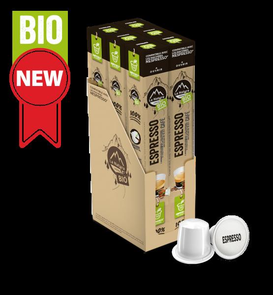 Café BIO Espresso - 60 Capsules La Natura Lifestyle