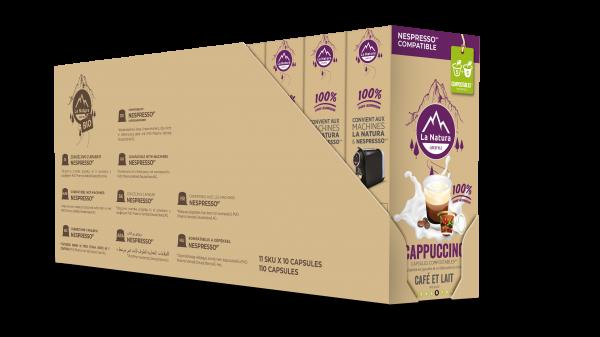 Cappuccino - 110 capsules La Natura Lifestyle