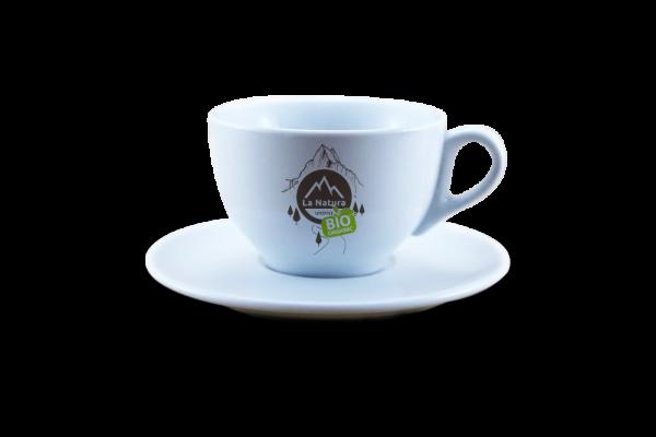 Espresso porcelánový šálek s podšálkem 1 ks. La Natura Lifestyle 70 ml