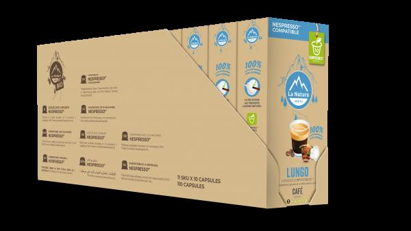 Lungo - 110 capsules Multipack La Natura Lifestyle
