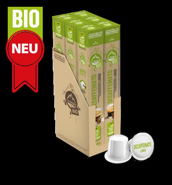 Decaffeinato Lungo BIO Kaffee - 60 Kapseln La Natura Lifestyle BAG