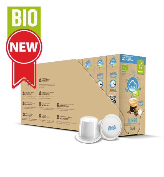 Café BIO Lungo - 110 capsules Multipack La Natura Lifestyle