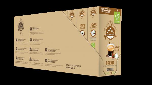 Crema - 100er Multipack La Natura Lifestyle CRS