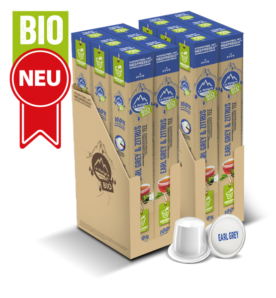 Earl & Grey BIO Tee - 120 Kapseln La Natura Lifestyle BAG