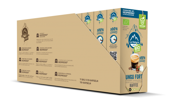 Lungo Forte BIO Kaffee - 100er Multipack La Natura Lifestyle