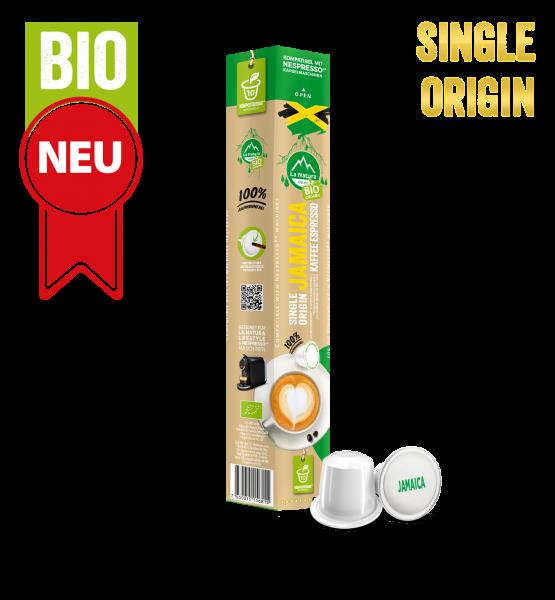 Jamaica Plantagen Single Origin BIO Kaffee - 10 Kapseln La Natura Lifestyle