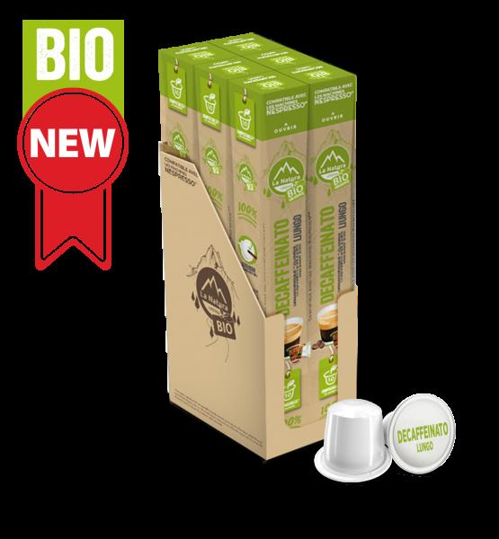 Café BIO Decaffeinato Lungo - 60 capsules La Natura Lifestyle