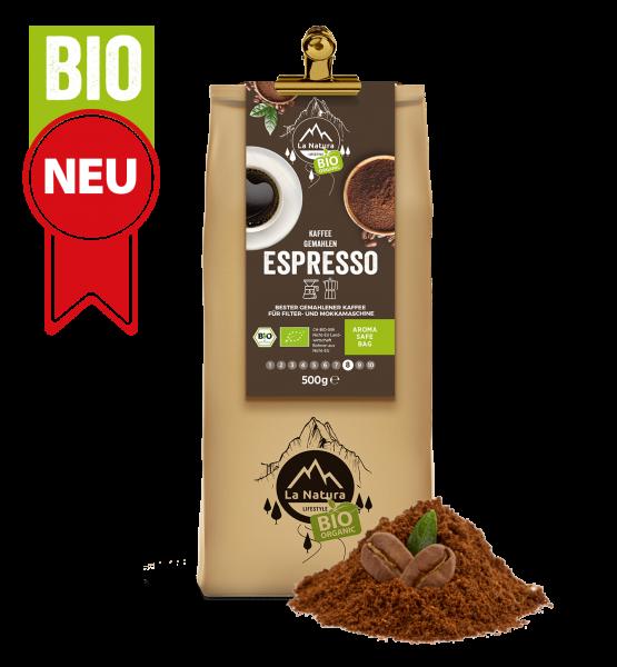 Espresso BIO Kaffee 500g La Natura Lifestyle