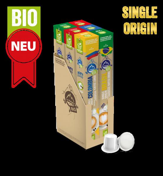 Selection Box Plantagen Single Origin BIO Kaffee - 60 Kapseln La Natura Lifestyle