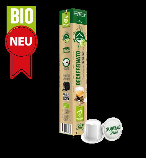 Decaffeinato Espresso BIO Káva - 10 kapslí La Natura Lifestyle