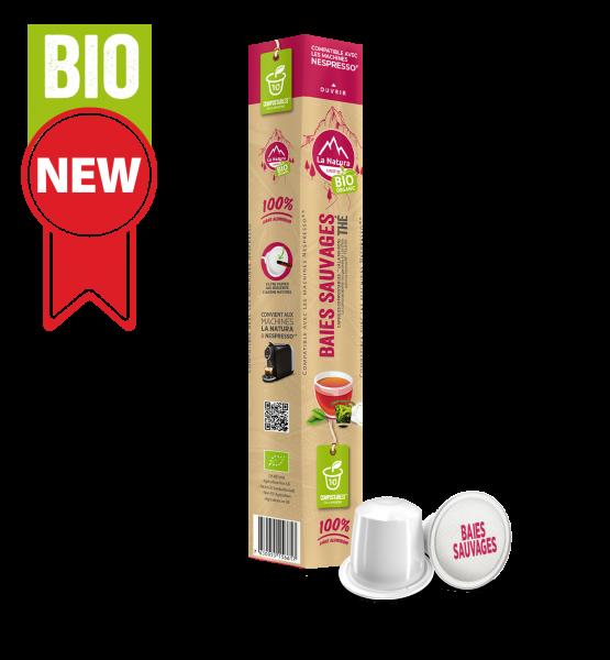 Thé BIO Baies Sauvages - 10 capsules La Natura Lifestyle