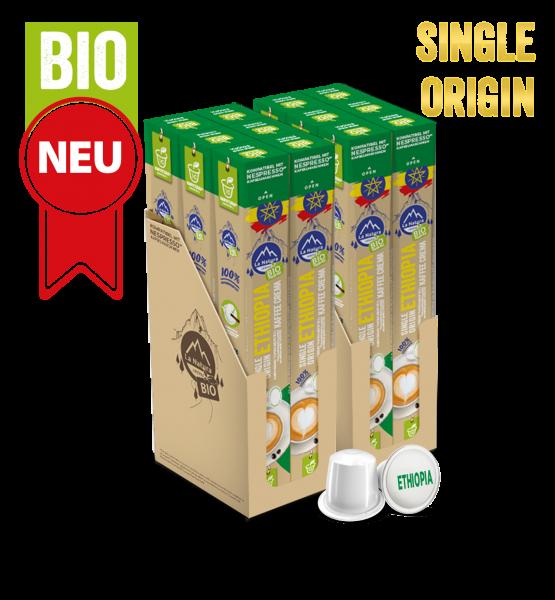 Ethiopia Plantagen Single Origin BIO Kaffee - 120 Kapseln La Natura Lifestyle
