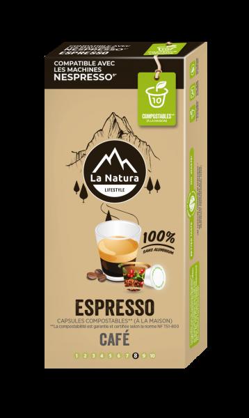 Espresso - 10 Capsules La Natura Lifestyle