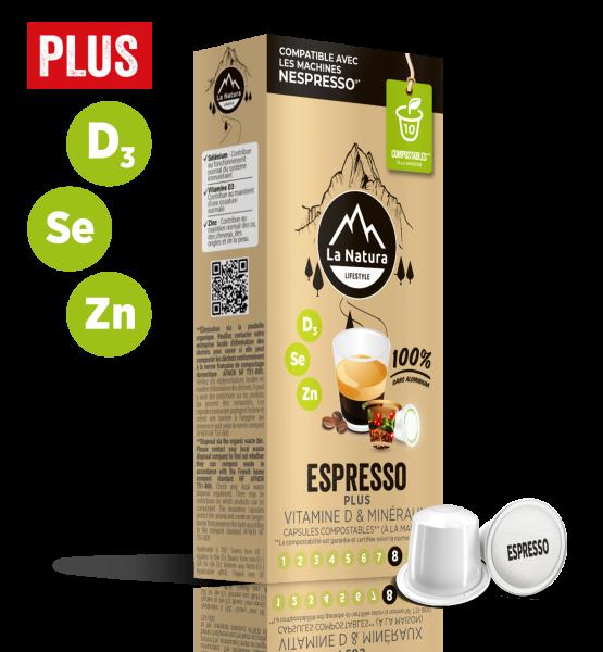 Espresso Plus - 10 Capsules La Natura Lifestyle