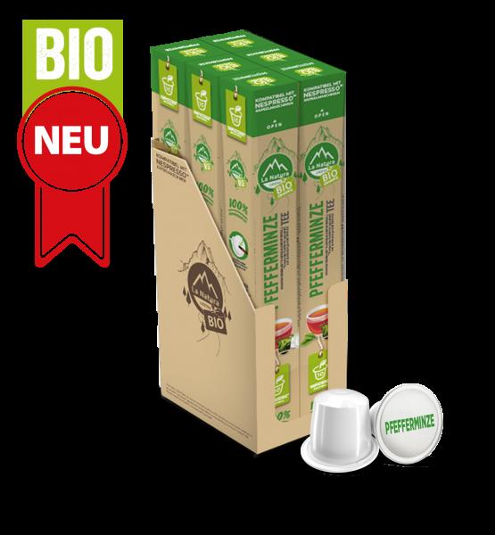 Pfefferminze BIO Tee - 60 Kapseln La Natura Lifestyle BAG