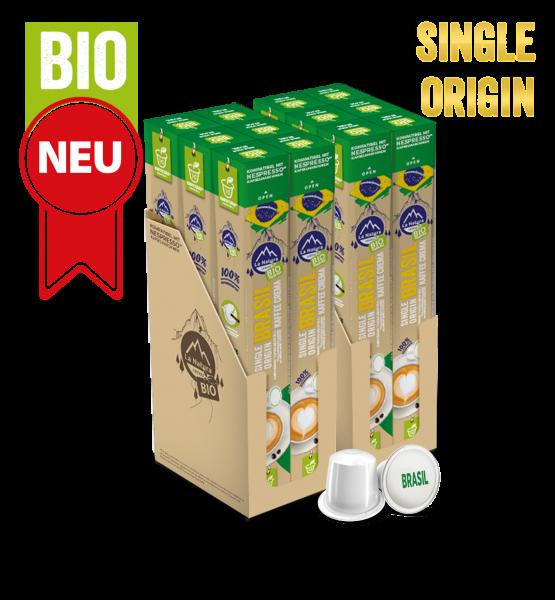 Brasil Plantagen Single Origin BIO Kaffee - 120 Kapseln La Natura Lifestyle