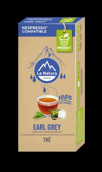 Thé Earl Grey & Agrumes - 10 capsules La Natura Lifestyle