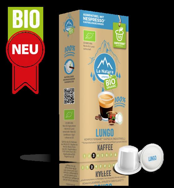 Lungo BIO Kaffee - 10 Kapseln La Natura Lifestyle