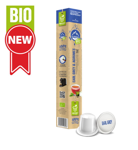 Thé BIO Earl Grey & Agrumes - 10 capsules La Natura Lifestyle-Copy
