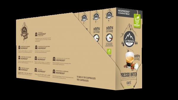 Espresso Intenso - 110 capsules Multipack La Natura Lifestyle