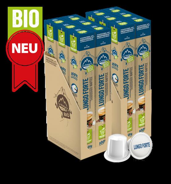 Lungo Forte BIO Kaffee - 120 Kapseln La Natura Lifestyle BAG