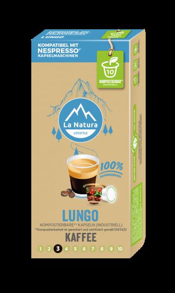 Lungo - 10 Kapseln La Natura Lifestyle