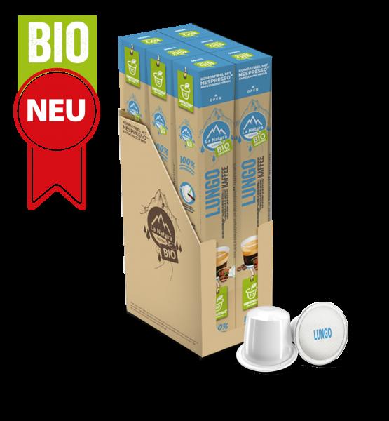 Lungo BIO Kaffee - 60 Kapseln La Natura Lifestyle BAG