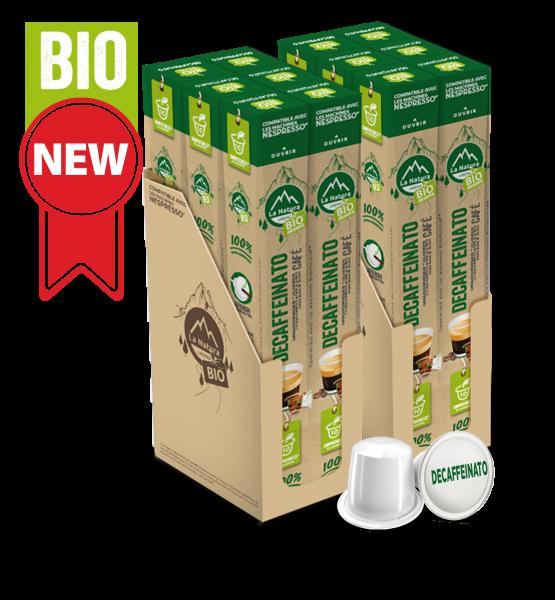Café BIO Decaffeinato - 120 capsules La Natura Lifestyle