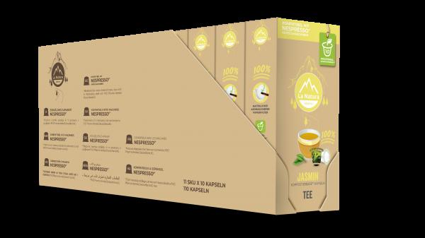 Jasmin Grüner Tee - 100er Multipack La Natura Lifestyle CRS