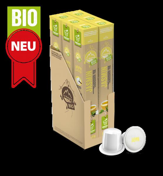 Jasmin BIO Tee - 60 Kapseln La Natura Lifestyle BAG