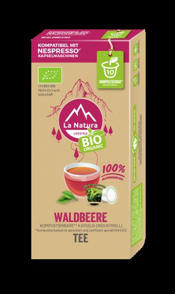 Waldbeere BIO Tee - 10 Kapseln La Natura Lifestyle