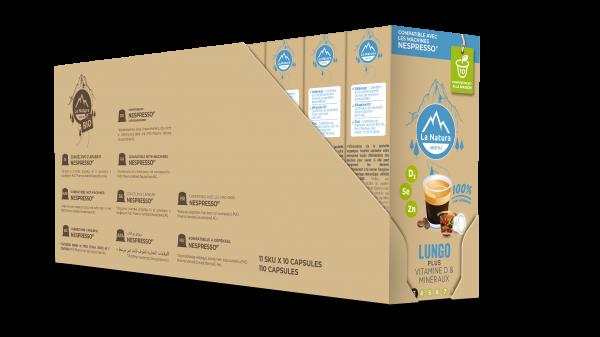 Lungo Plus - 110 capsules Multipack La Natura Lifestyle