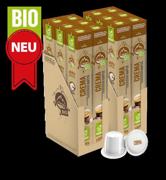 Crema BIO Kaffee - 120 Kapseln La Natura Lifestyle BAG