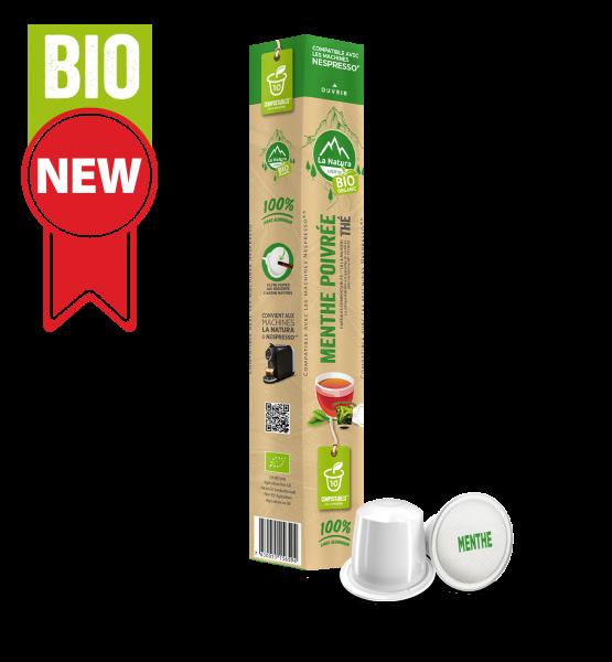 Thé BIO Menthe Poivrée - 10 capsules La Natura Lifestyle