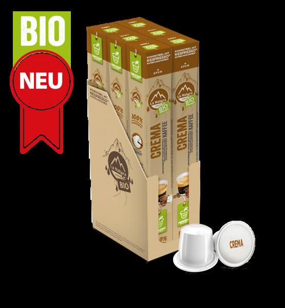 Crema BIO Kaffee - 60 Kapseln La Natura Lifestyle BAG