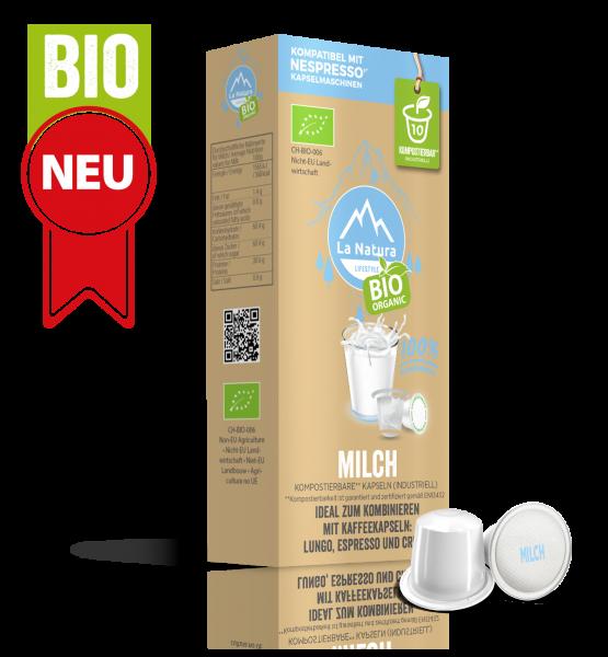 BIO Milch 3,5% - 10 Kapseln La Natura Lifestyle