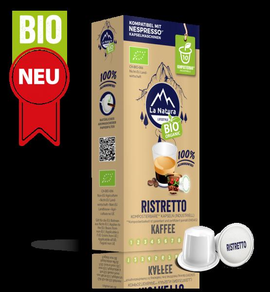 Ristretto BIO Kaffee - 10 Kapseln La Natura Lifestyle