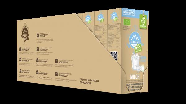 BIO Milch 3,5% - 100er Multipack La Natura Lifestyle