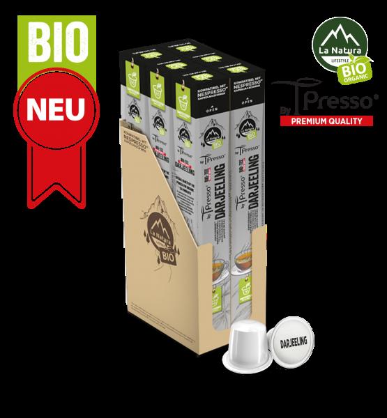 Darjeeling BIO Tee - 60 Kapseln La Natura Lifestyle by Tpresso BAG