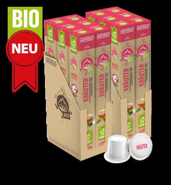 Bylinná směs BIO Tea - 120 kapslí La Natura Lifestyle