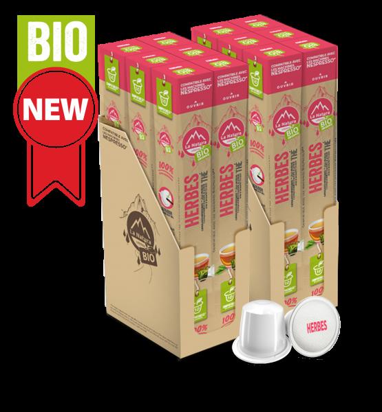 Thé BIO aux Herbes - 120 capsules La Natura Lifestyle