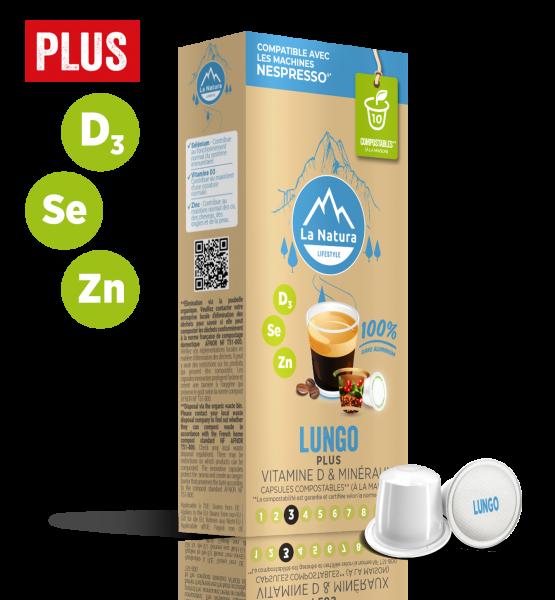 Lungo Plus - 10 capsules La Natura Lifestyle