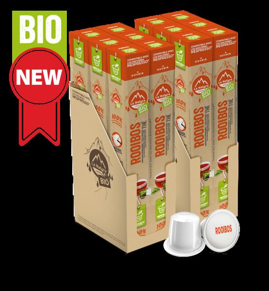 Thé BIO Rooibos - 120 capsules La Natura Lifestyle