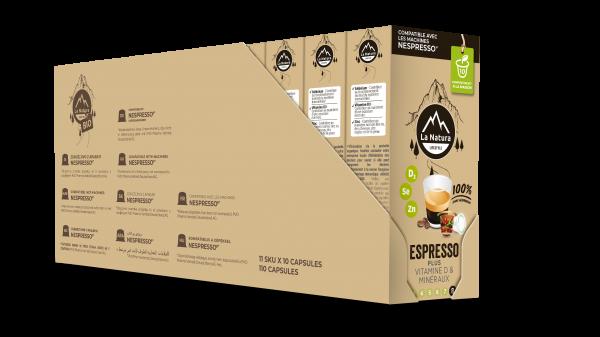 Espresso Plus - 110 Capsules Multipack La Natura Lifestyle