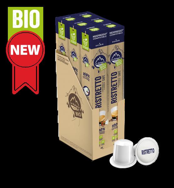 Café BIO Ristretto - 60 capsules La Natura Lifestyle