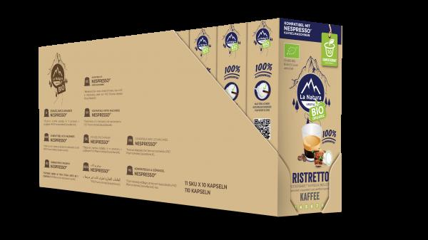 Ristretto BIO Kaffee - 100er Multipack La Natura Lifestyle