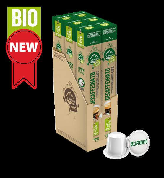 Café BIO Decaffeinato - 60 capsules La Natura Lifestyle