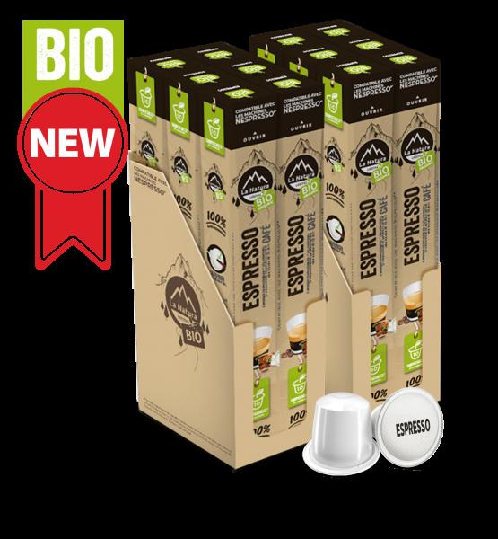 Café BIO Espresso - 120 Capsules La Natura Lifestyle