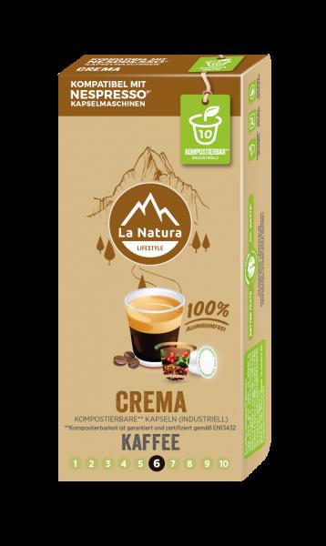 Crema - 10 Kapseln La Natura Lifestyle