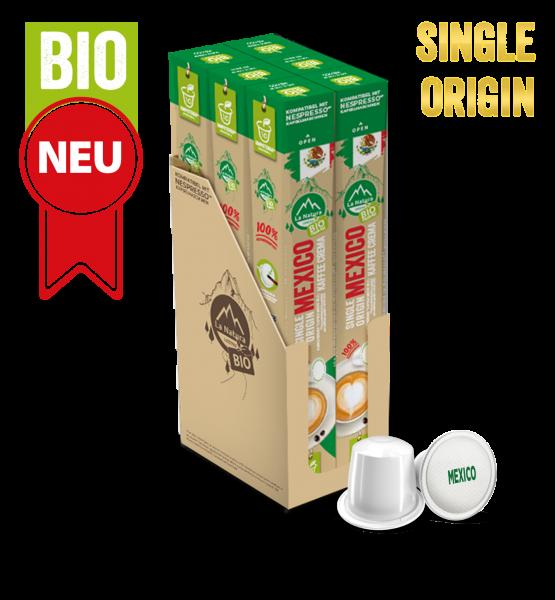 Mexico Plantagen Single Origin BIO Kaffee - 60 Kapseln La Natura Lifestyle-Copy